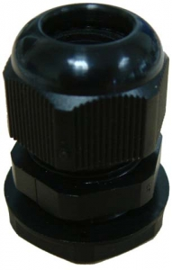 Dynamix Cable Glands for Fibre Panels Black Colour