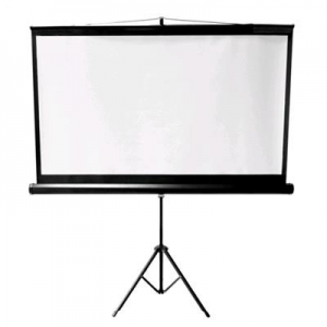 Brateck 65 Inch 16:9 Portable Projector Screen with Tripod