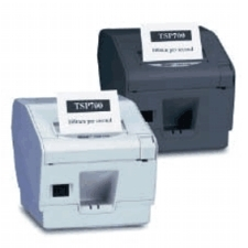 Star TSP743 Serial Thermal Cutter Receipt Printer Grey