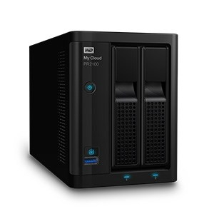 Western Digital My Cloud Pro Series PR2100 16TB (2x 8TB) 2-Bay NAS Personal Cloud Storage