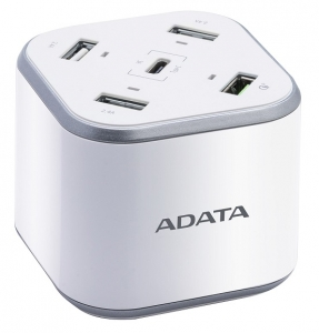 ADATA 5 Port USB Charging Station with Qualcomm Quick Charge