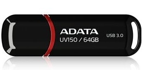 ADATA Dashdrive 64GB UV150 USB3.0 Black