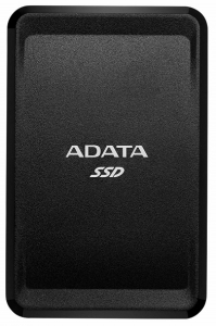 ADATA SC685 USB-C 3.2 500GB Portable External Solid State Drive - Black