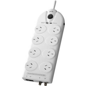 APC SurgeArrest Essential 8-Outlets Surge Suppressor Protector