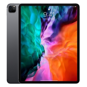 Apple iPad Pro (4th Gen, 2020) 12.9  Inch Retina 2K A12Z Bionic 1TB Storage WiFi & Cellular Tablet with iPadOS - Space Grey