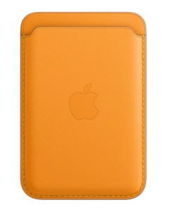 Apple iPhone Leather Wallet with MagSafe - California Poppy