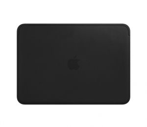 Apple Leather Sleeve for 12 Inch MacBook - Black