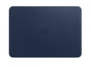 Apple Leather Sleeve for 15 Inch MacBook Pro - Midnight Blue