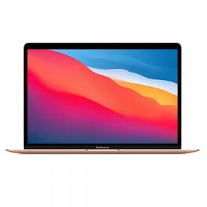 Apple MacBook Air (M1, Late 2020) 13.3 Inch Retina 2K Apple M1 3.2GHz 8GB RAM 256GB SSD Laptop with macOS - Gold