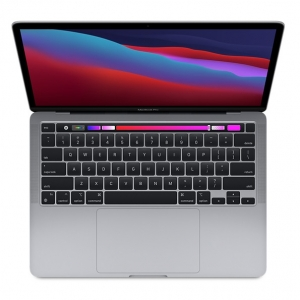 Apple MacBook Pro (M1, Late 2020) Touch Bar 13.3 Inch Retina 2K Apple M1 3.2GHz 8GB RAM 256GB SSD Laptop with macOS - Space Grey