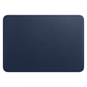 Apple Leather Sleeve for 16 Inch MacBook Pro - Midnight Blue