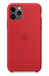 Apple Silicone Case for iPhone 11 Pro - Red