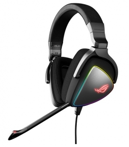 ASUS ROG Delta USB-C Over the Head Wired Stereo Gaming Headset with RGB Lighting