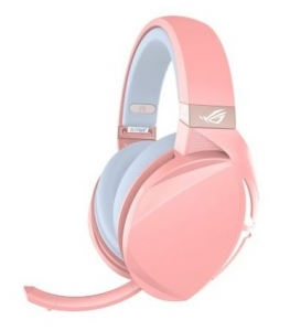 ASUS ROG Strix Fusion 300 USB & 3.5mm Over the Head Wired 7.1 Stereo Gaming Headset - Pink Limited Edition