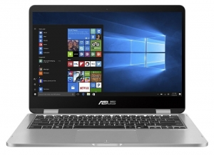 Asus TP401MA-BZ235R 15.6 Inch Celeron N4020 2.80GHz 4GB RAM 128GB SSD Touchscreen Laptop with Windows 10 Pro