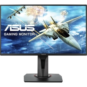 Asus VG258QR 24.5 Inch 1920 x 1080 1ms 400nit Gaming TN Monitor with Speakers -  HDMI, DisplayPort, DVI
