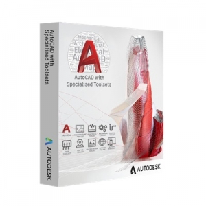 Autodesk AutoCAD 2021 with Specialised Toolsets Commercial New License - 12 Month Subscription