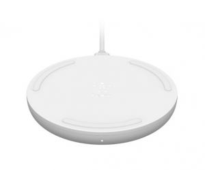 Belkin BoostUP Charge 15W Wireless Charging Pad with 24W Wall Charger - White