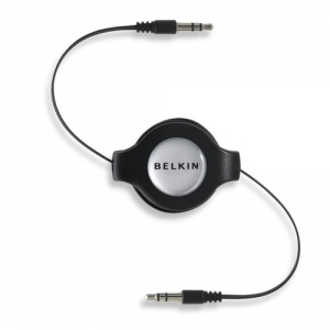 Belkin iPHONE/iPOD/ MP3 Retractable Cable