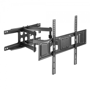 Brateck Economy Full Motion Wall Mount Bracket for 37-80 Inch Curved & Flat Panel TVs or Monitors - Up to 40kg