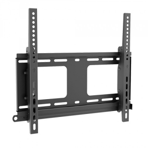 Brateck Anti-Theft Heavy Duty Tilting Wall Mount Bracket for 32-55 Inch Curved & Flat  Panel TVs or Monitors - Up to 80kg