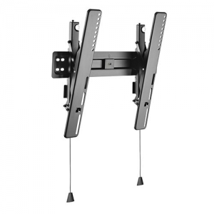 Brateck Ultra Slim Full-Motion Tiltable Wall Mount Bracket for 32-55 Inch Curved & Flat Panel TVs or Monitors - Up to 35kg