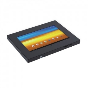 Brateck Anti-Theft Steel Tablet Enclosure Wall Mountable with Lock for Samsung 10.1 Inch Tablets - Black
