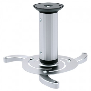Brateck Aluminum 130/200/320mm Changeable Length Ceiling Projector Mount Bracket - Siver