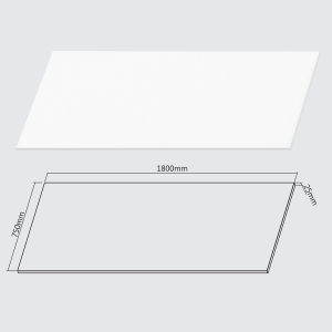 Brateck Table Top for M02-23R - White