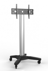 Brateck Mobile Cart Trolley Mount for 37-70 Inch Flat Panel TVs or Monitors - Up to 80kgs