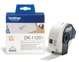 Brother P-Touch DK11201 29 x 90mm Standard White Address Labels
