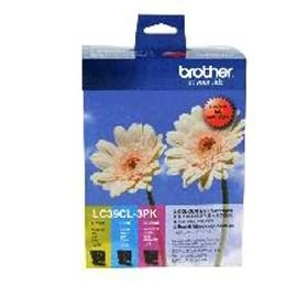 Brother LC39CL3PK Ink Cartridge 3 Colour Pack