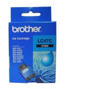Brother LC47C Cyan Ink Cartridge