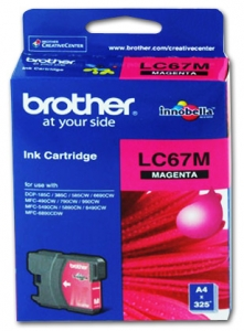 Brother LC67M Magenta Ink Cartridge