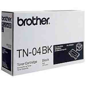 Brother TN04BK Black Toner Cartridge