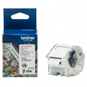 Brother CZ-1004 25mm x 5m Full Colour Continuous Label Roll