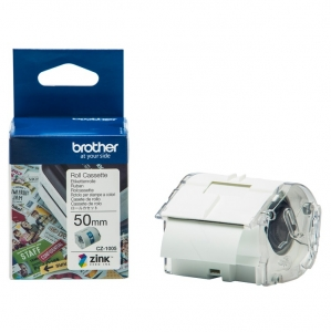 Brother CZ-1005 50mm x 5m Full Colour Continuous Label Roll