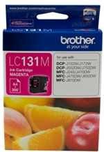 Brother LC131M Magenta Ink Cartridge