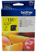Brother LC131Y Ink Cartridge Yellow