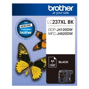 Brother LC237XLBK Black High Yield Ink Cartridge