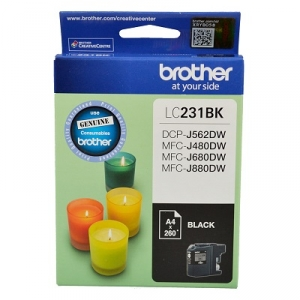 Brother LC231BK Black Ink Cartridge