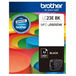 Brother LC23EBK Black Super High Ink Cartridge
