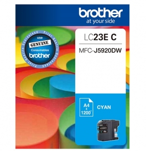 Brother LC23EC Cyan Super High Yield Ink Cartridge