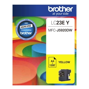 Brother LC23EY Yellow Ink Cartridge