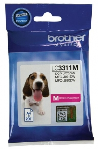Brother LC3311 Magenta Ink Cartridge