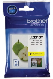 Brother LC3313 Yellow Ink Cartridge