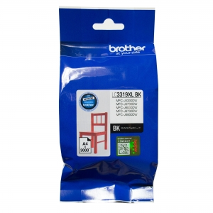 Brother LC3319XLBK Black High Yield Ink Cartridge