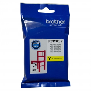 Brother LC3319XLY Yellow High Yield Ink Cartridge