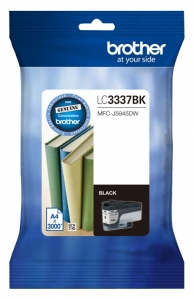 Brother LC3337BK Black High Yield Ink Cartridge