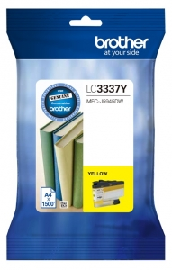 Brother LC3337Y Yellow High Yield Ink Cartridge